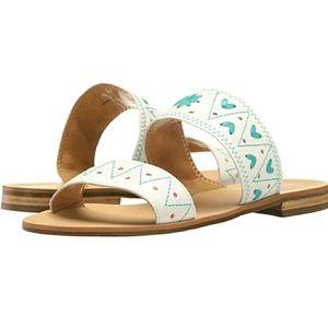 Jack Rogers ADAIR WHITE/CARBLUE Sandals